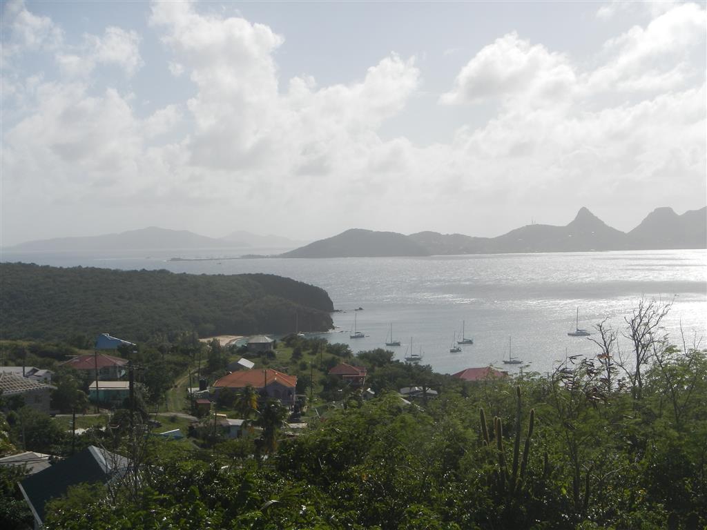 Blick über die Saline Bay