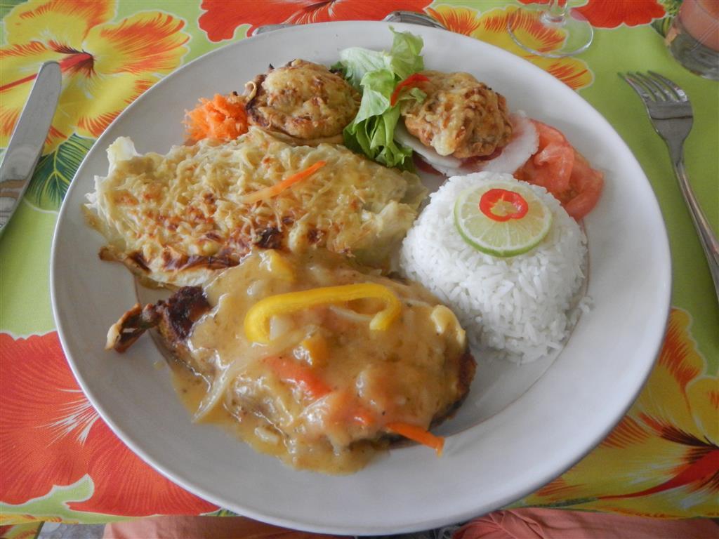 Kreolisches Mittagessen