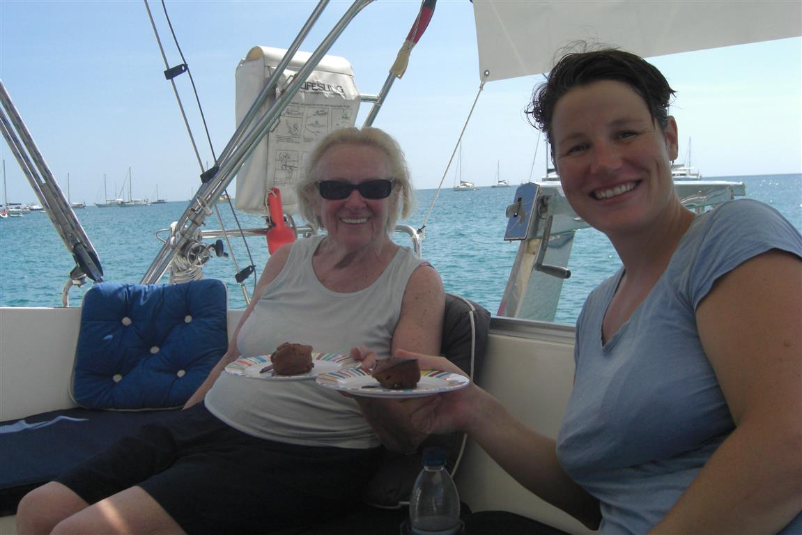 Sven backt uns zum Muttertag Schokoladenmuffins