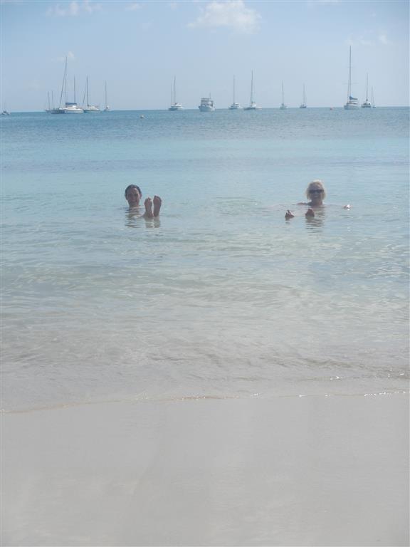 Baden am Strand