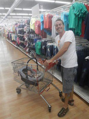 Wir geen mit Lea einkaufen...