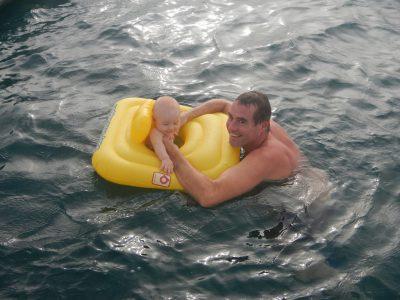 "Bad im ""großen Pool""."
