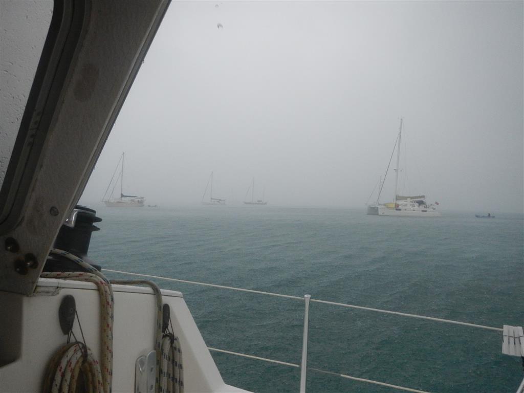Tagelang nur Regen auf Martinique.