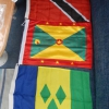 Wir haben bereits Flaggen für die Karibik gekauft