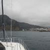 Santa Cruz de La Palma empfängt uns nicht gerade mit schönem Wettter.