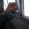 Wir dichten die Fenster neu ab