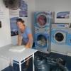 Im Waschsalon in St. Laurent du Maroni