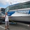 Mit diesen Ruderbooten ging es Ende des Jahres Richtung Kariibik!