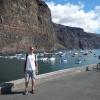In Valle Gran Rey (La Gomera)