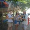 Mit Linda und Evgeny in Paramaribo